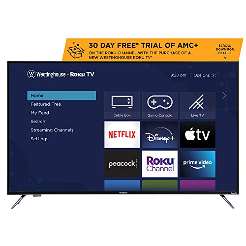 Westinghouse 55 inch Roku 4k Ultra HD LED Smart TV with HDR