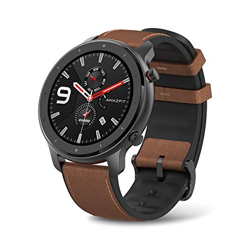 Amazfit GTR Aluminium Alloy Smartwatch with GPS+Glonass, All-Day Heart Rate...