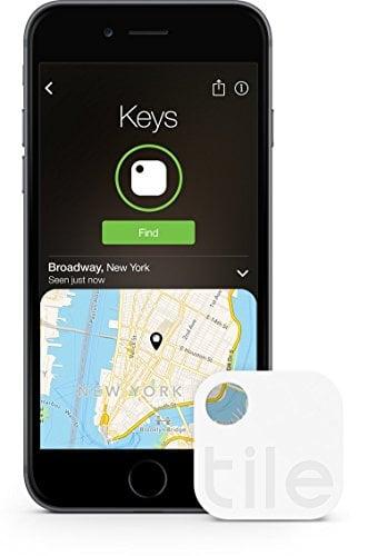 Tile (Gen 2) - Key Finder. Phone Finder. Anything Finder - 1 Pack (Discontinued by...