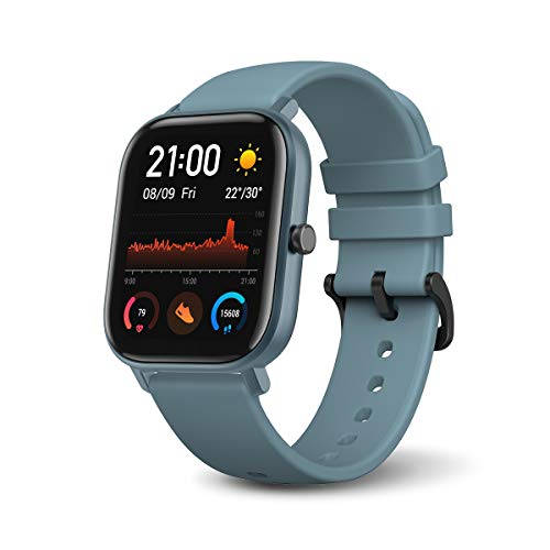 Amazfit GTS Smartwatch with 14-Day Battery Life,1.65 Inch AMOLED Display,...