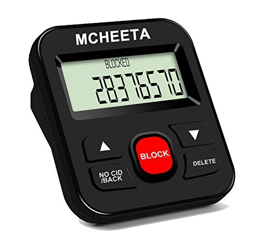 Call Blocker, MCHEETA Premium Phone Call Blocker Landline Device, Simply Block...