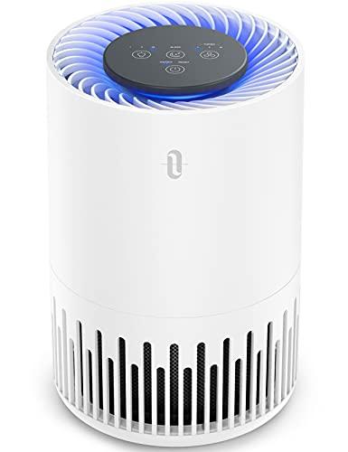 TaoTronics HEPA Air Purifier for Home, Allergens Smoke Pollen Pets Hair, Desktop Air...