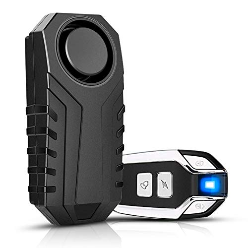 Onvian Upgraded Wireless Anti-Theft Motorcycle Bike Alarm with Remote, Waterproof Bicycle...