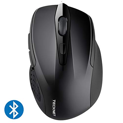 TeckNet 2600DPI Bluetooth Wireless Mouse, 12 Months Battery Life with Battery...