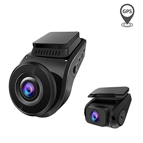 Vantrue S1 4k Dash Cam, Dual 1080P Front and Rear Dash Camera with GPS, Support 256GB Max,...