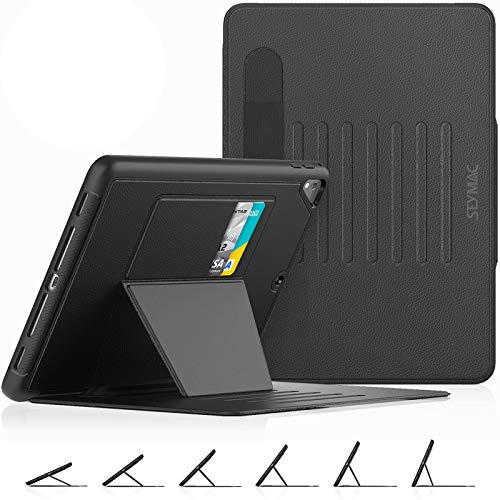 SEYMAC stock Case for iPad 6th/ 5th Generation 2018/2017 /Air 2/Pro 9.7 , Smart Magnetic...