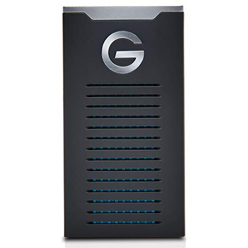 G-Technology 2TB G-DRIVE mobile SSD Durable Portable External Storage - USB-C (USB 3.1),...