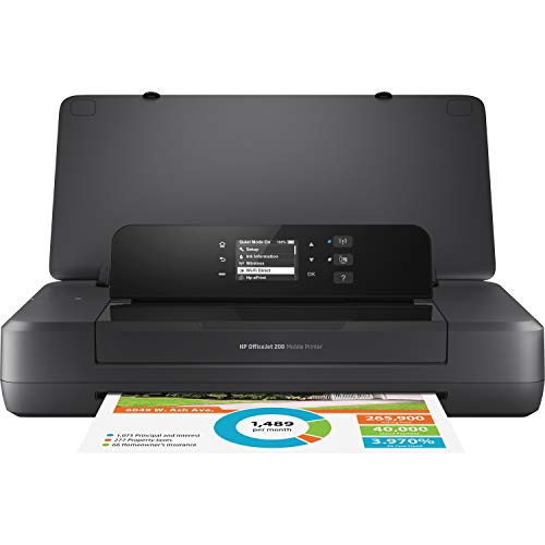 HP OfficeJet 200 Portable Printer with Wireless & Mobile Printing (CZ993A)