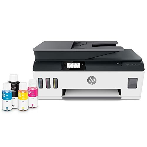 HP Smart Tank Plus 651 Wireless All-in-One Ink Tank Printer, up to 2 Years of Ink in...