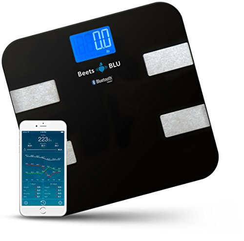Beets BLU Digital Bathroom Scale or Weight Scale with Body Composition. Smart Scale Works...