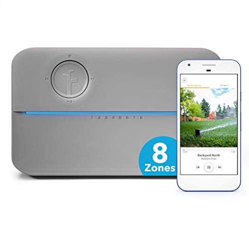 Rachio 8ZULWC-L R3e Generation: Smart, 8 Zone Sprinkler Controller, Works with Alexa, Gen,...