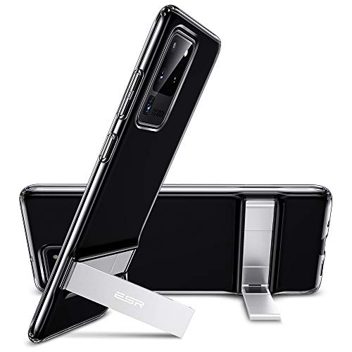 ESR Metal Kickstand Case Compatible with Samsung Galaxy S20 Ultra (6.9-Inch) [Vertical and...