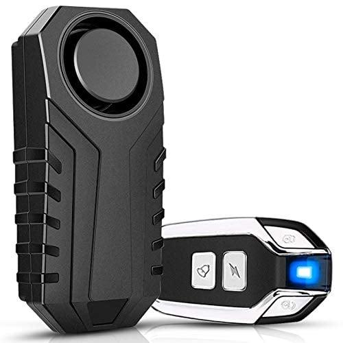 Onvian Bike Alarm with Remote, Upgraded Anti-Theft Vibration Security Motion Sensor Alarm...
