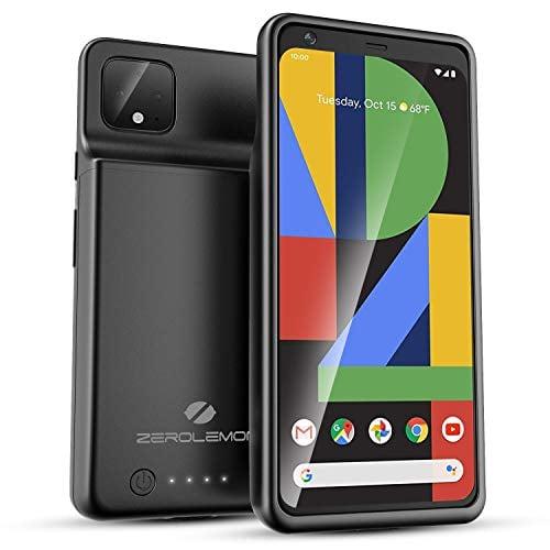 Google Pixel 4 XL Battery Case 8000mAh, ZeroLemon Ultra Power Extended Battery with Soft...