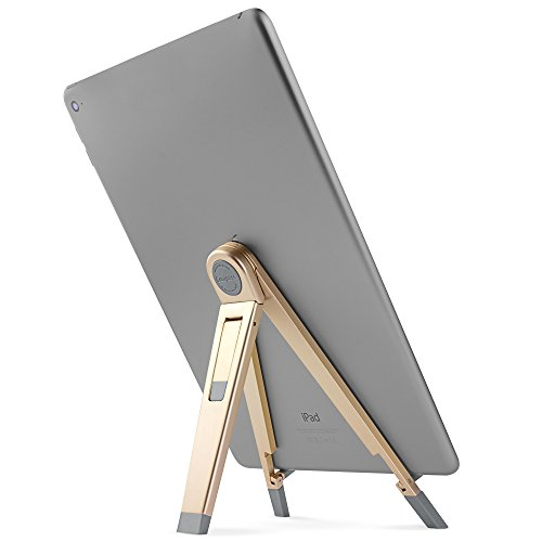 Twelve South Compass 2 for iPad, gold | Mobile display stand with typing angle for iPad...