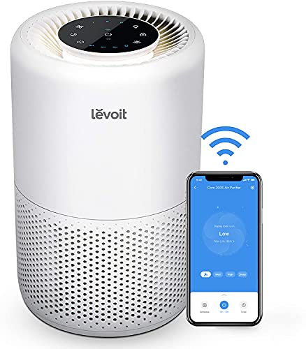 LEVOIT Air Purifiers for Home, Smart WiFi Alexa Control, H13 True HEPA Filter for...
