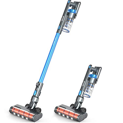 LEVOIT Cordless Vacuum, Ultra Lightweight 4 in 1 Stick Cleaner with Full-Size LED Light,...