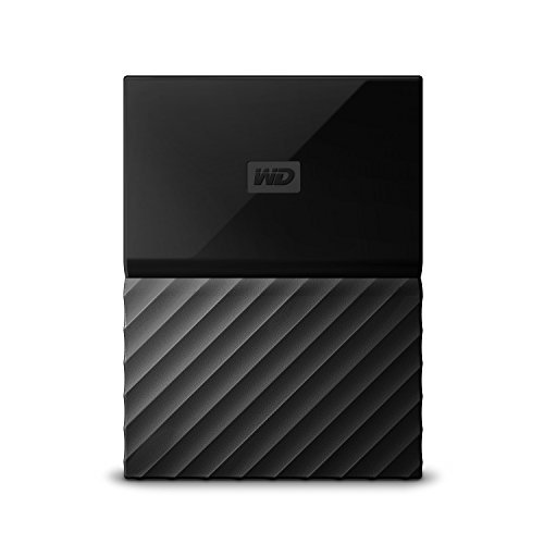 WD 2TB My Passport Game Storage Works with PS4 - USB 3.0 - WDBZGE0020BBK-NESN