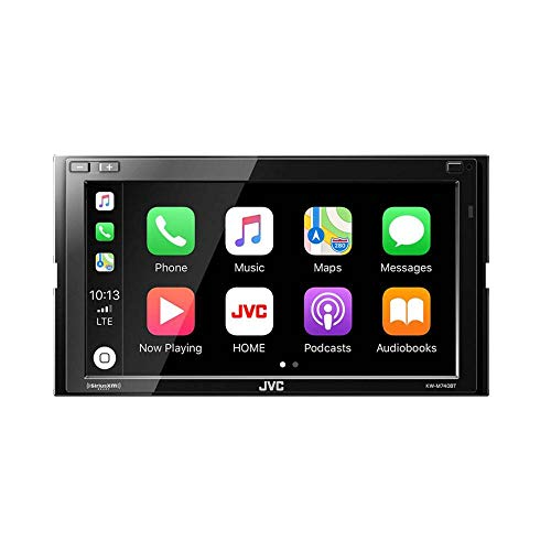 JVC KW-M740BT Apple CarPlay, Android Auto 2-DIN AV Receiver (No CD Drive)