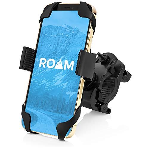 Roam Universal Bike Phone Mount for Motorcycle - Bike Handlebars, Adjustable, Fits All...