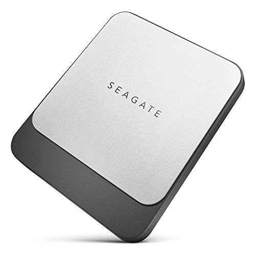 Seagate Fast SSD 2TB External Solid State Drive Portable – USB-C USB 3.0 for PC, Mac,...