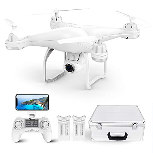 Potensic T25 Drone with 2K Camera for Adults, RC FPV GPS Drone with WiFi Live Video, Auto...