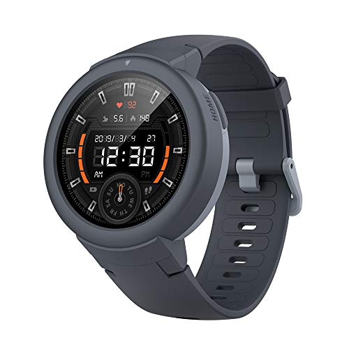 Amazfit Verge Lite Smartwatch by Huami with 20-Day Battery Life,24/7 Heart Rate...