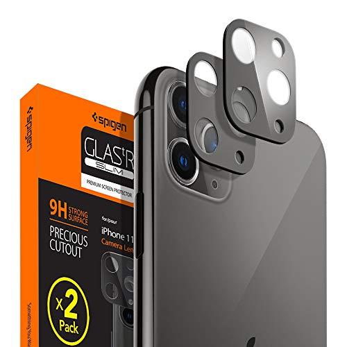 Spigen Camera Lens Screen Protector [Glas.tR Optik] designed for iPhone 11 Pro / iPhone 11...