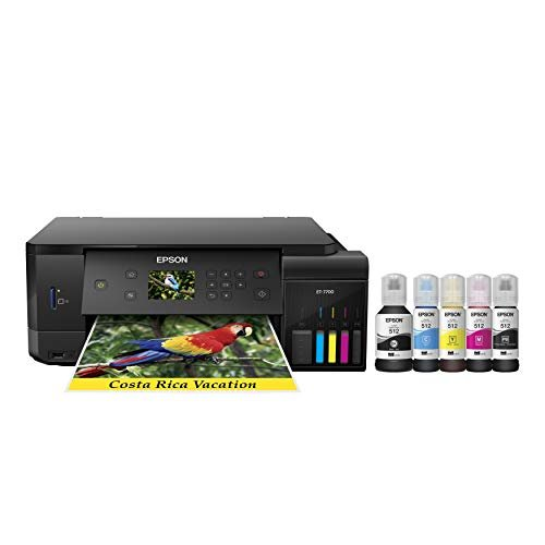 Epson Expression Premium EcoTank Wireless 5-Color All-in-One Supertank Printer with...