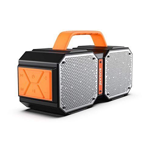 Bluetooth Speaker, BUGANI M83 Waterproof Outdoor Speaker Bluetooth 5.0, 2400 Minutes...