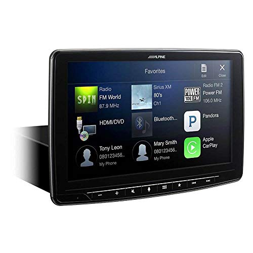 Alpine iLX-F309 HALO9 9' AM/FM/audio/video Receiver w/ 9-inch Touch Screen and Mech-less...