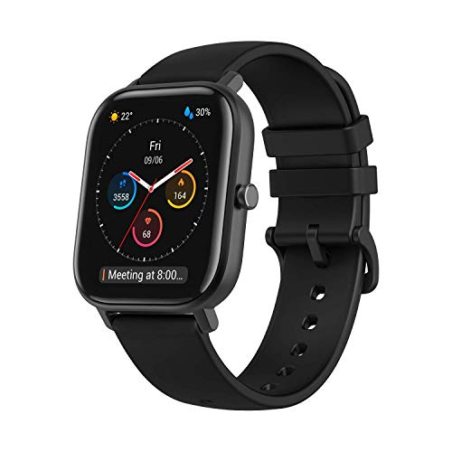 Amazfit GTS Fitness Smartwatch with Heart Rate Monitor, 14-Day Battery Life, Music...
