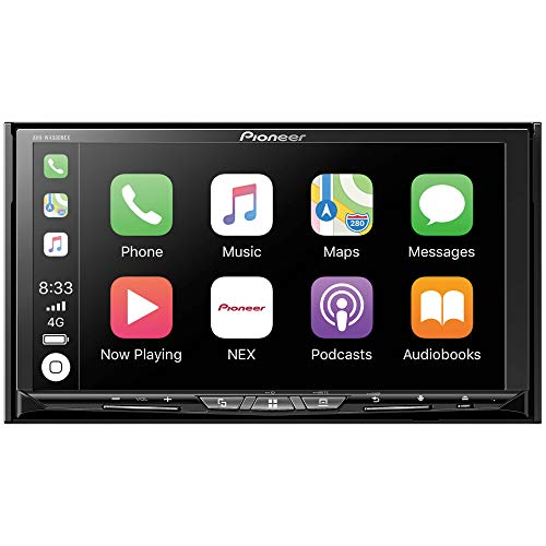 Pioneer AVH-W4500NEX Double Din Wireless Mirroring Android Auto, Apple Carplay In-Dash...