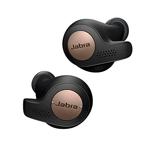 Jabra Elite Active 65t Earbuds – True Wireless Earbuds with Charging Case, Copper Black...