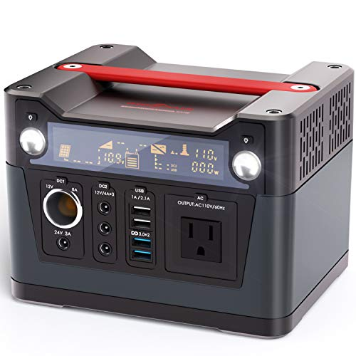ROCKPALS 300W Portable Generator Lithium Portable Power Station