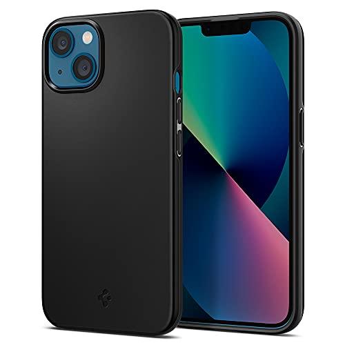 Spigen Thin Fit Designed for iPhone 13 Case (2021) - Black