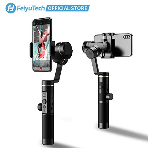 FeiyuTech SPG2 Aluminium 3-Axis Handheld Gimbal Stabilizer for iPhone 11 Pro MAX X Xs Max...
