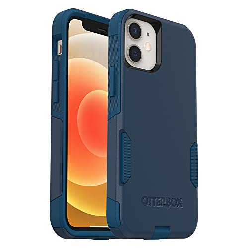 OtterBox Commuter Series Case for iPhone 12 Mini - Bespoke Way (Blazer Blue/Stormy SEAS...