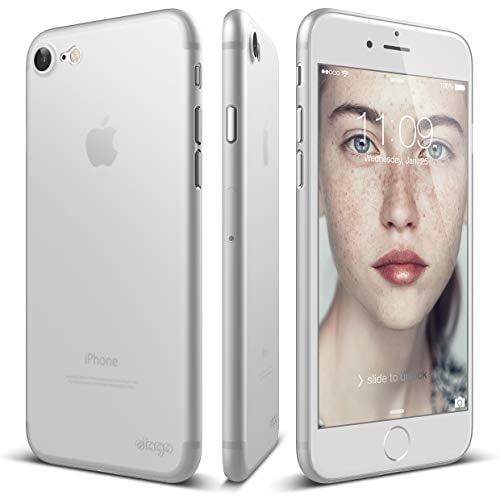 elago Origin Case Designed for iPhone 8 / iPhone 7 (Frosted Transparent)