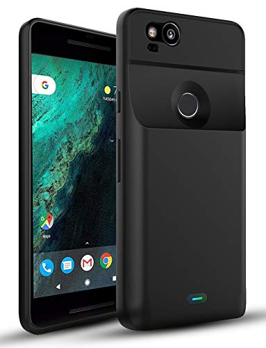 CASESSARY Pixel 2 Battery Case Fast Charging 3900mAh Rechargeable External Battery Pack...