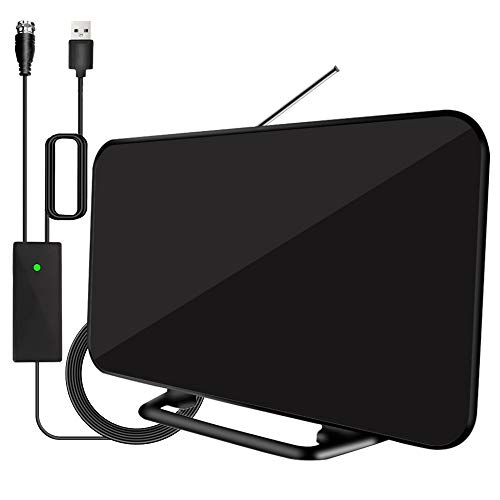 2020 Newest Digital HD TV Antenna 180+ Miles Long Range with Powerful Built-in...