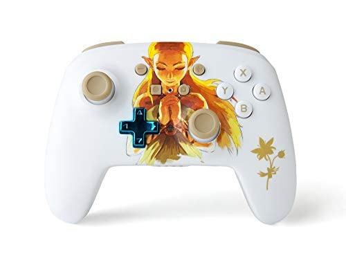PowerA Enhanced Wireless Controller for Nintendo Switch - Princess Zelda