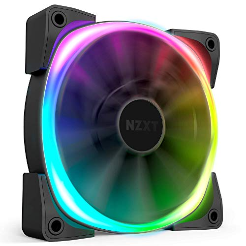 NZXT AER RGB 2 - HF-28120-B1 - 120mm - Advanced Lighting Customizations - Winglet Tips -...