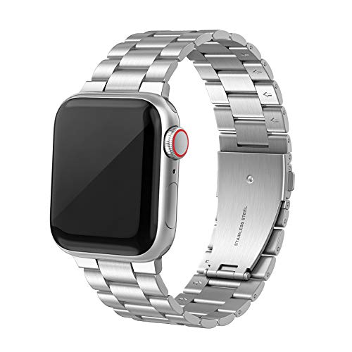 SWEES Stainless Steel Metal Bands Compatible with iWatch 42mm 44mm Series 6, Series 5,...