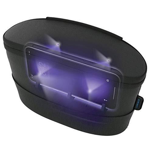 HoMedics UV Clean Sanitizer Bag Portable UV Light Sanitizer, Fast Germ Sanitizer for Cell...