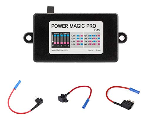 Blackvue BlackVue Power Magic Pro with 2 x Low Profile, 2 x Mini, 2 x ATO Fuse Taps and...
