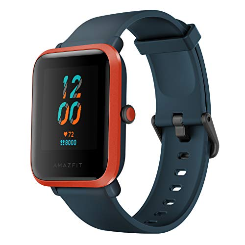 Amazfit Bip S Fitness Smartwatch, 40 Day Battery Life, 10 Sports Modes, Heart Rate, 1.28''...