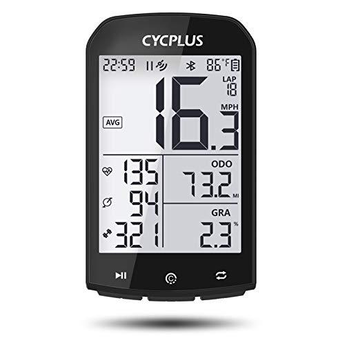 CYCPLUS GPS Bike Computer Waterproof Bicycle Speedometer and Odometer ANT+ Wireless...