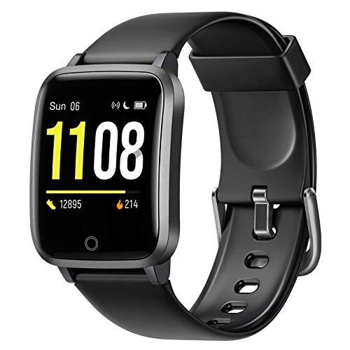 Letsfit Smart Watch, Fitness Trackers with Heart Rate Monitor, Activity Tracker Pedometer,...