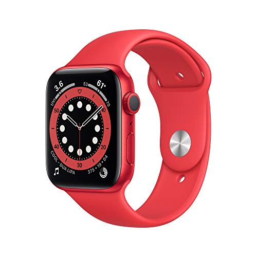 New Apple Watch Series 6 (GPS, 44mm) - (Product) RED - Aluminum Case with (Product)...